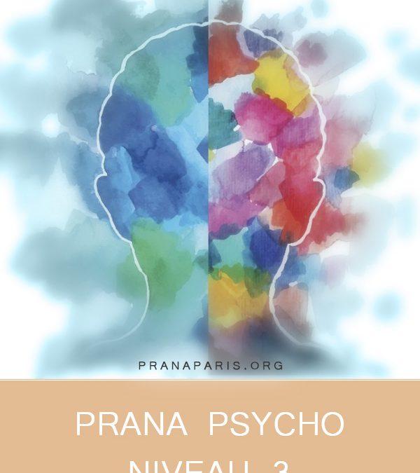 Prana Psycho- Niveau 3